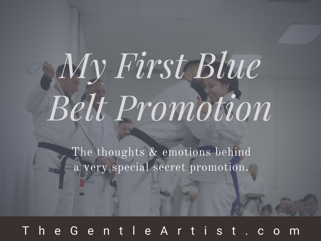 On Promoting Your First Blue Belt as a Black Belt